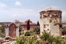 Der Turm der Winde in Athen, 4.7.1991