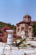 In der römischen Agora in Athen, 4.7.