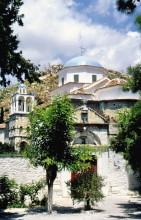 Das Spiliani Kloster auf Samos, 18.6.