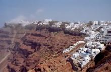Unser letzter Tag auf Santorini, 30.6.1996