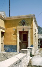 Altes Haus in Olympos, 13.6.