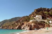 Die Bucht bei Kyria Panagia, 15.6.1998