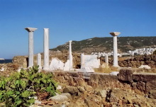 Die Säulen von Aagia Fotini, 16.6.1998