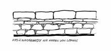 Apsismauerreste bei Lefkos, 18.6.1998