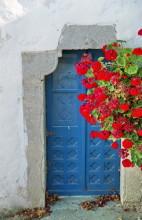 Tür in Chora auf Patmos