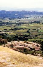 Blick in die Umgebung von Domboshava, Februar 1985