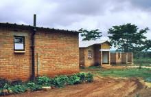 Häuserbau in Glenforest, 1988