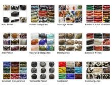 Das Kunstgewerbe der Glasperlenherstellung