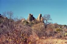 Winterlandschaft im Matobo Park