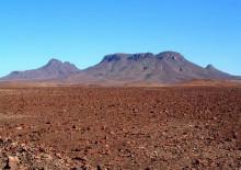 Die Goboboseb Berge an der Pad nach Uis
