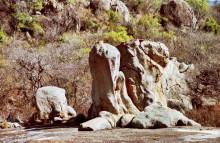 Felsskulpturen