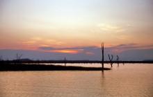 Abends auf dem Karibasee