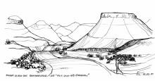 Die auf und ab Straßen im Damaraland, 2001