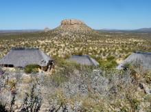 Ausblicke von der Vingerklip Lodge, 2011