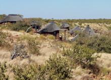 Chalets der Grootberg Lodge auf dem Plateau, 15.07.2011