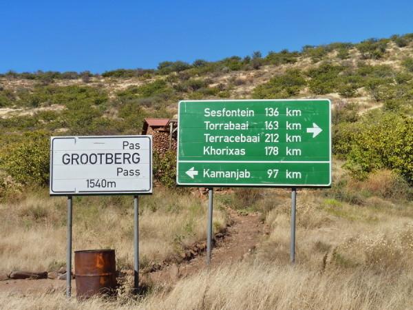 Am Grootberg Pass, 2011