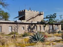 Außenansicht, Fort Sesfontein, 18.07.2011