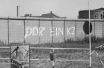 Blick auf die Mauer von Westberlin, 1973