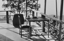 Mein Ruheplatz auf der Veranda, 1980