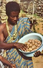 Kartoffelgeschenk zu Weihnachten 1980