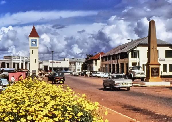 Im Zentrum von Kumasi, 08.07.