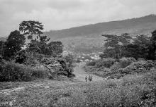 In der Nähe von Amedzofe, 1981