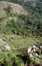 Täler im Avatime Gebirge, Ostern 1981