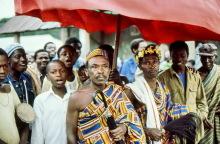 Versammlung der Häuptlinge in Amedzofe, Ostern 1981