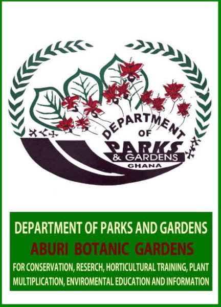 Logo der Parkverwaltung in Ghana, 1974