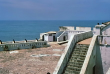 Im Cape Coast Castle, 24.07.