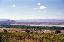 Blick auf den Elmenteita See, 1988