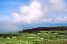 In der Regenzeit unterwegs nach Nakuru, 1987