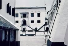 Innenhof im Elmina Castle, 1962