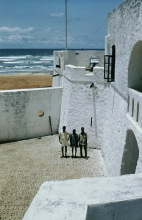 In der Elmina Burg, 1974