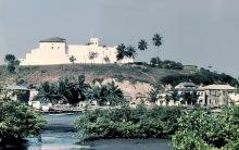 Blick auf Fort St. Jago, 1982