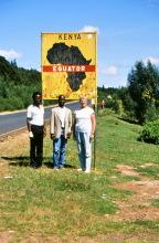 Am Äquator am 2. Mai 1987