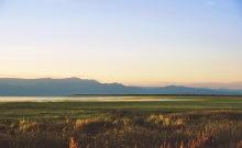 Blick auf den Baringo See, 2.5.1987