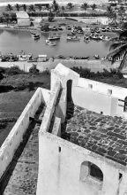 Eine der Bastionen vom Fort St. Jago, 1971
