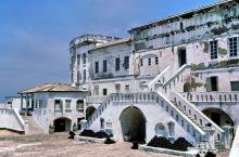 Haupteingang zur Burg in Cape Coast, 1974