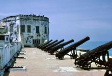 Die Kanonen vom Cape Coast Castle, 1974
