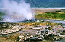 Heiße Dämpfe am Bogorio See, 1988
