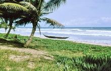 Küste bei Axim, 1974
