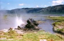 Das heiße Ufer vom Bogorio See, 1989