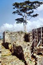Ruinensanierung, Fort Batenstein, 1974