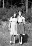 Klassenausflug in den Harz (noch mit Zöpfen), 1947