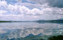 Der Magadi Natron See, 1989