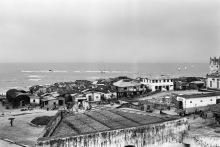 Blick auf Shama vom Fort Sebastian, 1969