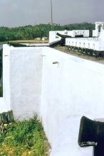 Außenmauer vom Fort Metal Cross bei Dixcove, 1967