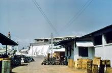 Das Ussher Fort in Jamestown, Accra, 1971