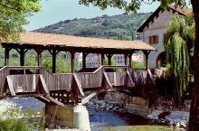 Brücke über die Eisack bei Brixen